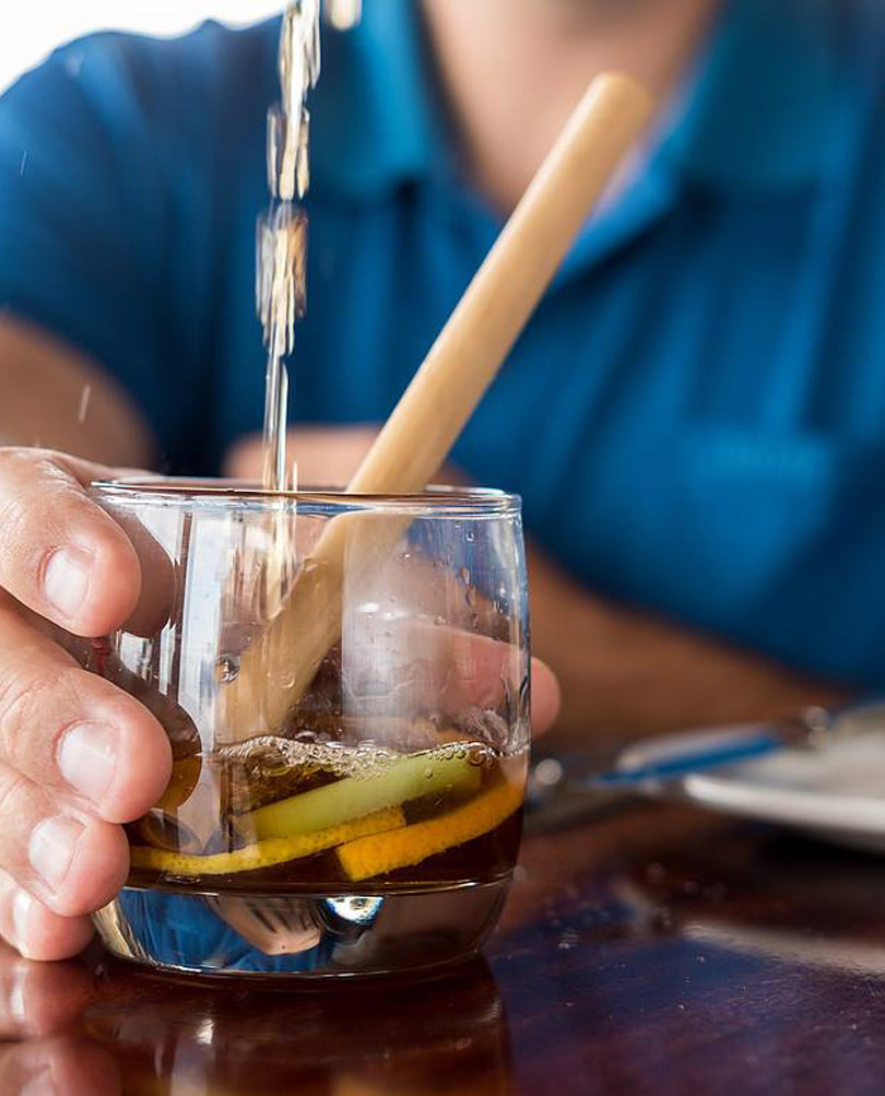 Environmentally-friendly straws are used by the Royal St Andrews in Port Alfred